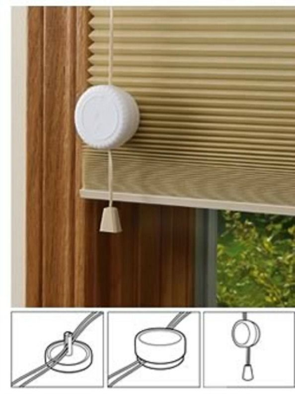 blind and curtain cord wind up
