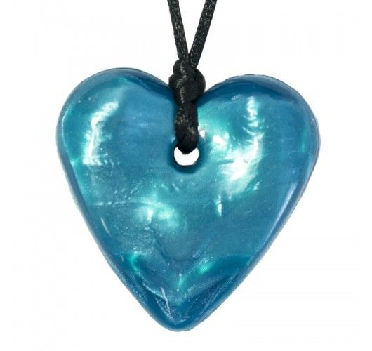Gumigem - Traditional Heart Necklace - Tealicious