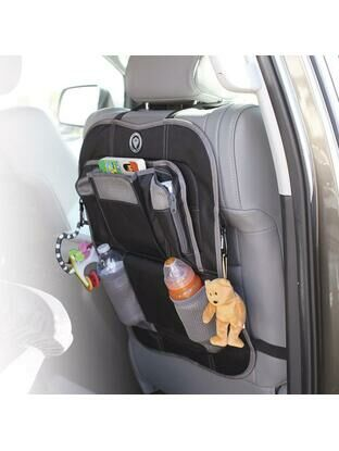 Prince Lionheart Car Back Seat Organiser Grey/Black