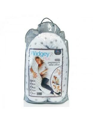 PHP Widgey Plus Pregnancy and Sleep Pillow - Silver Stars