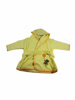 Dressing Gown - Yellow