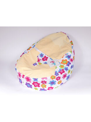 GaGa Luxury Cuddlesoft Baby Bean Bag With Harness - Soft Petals Design