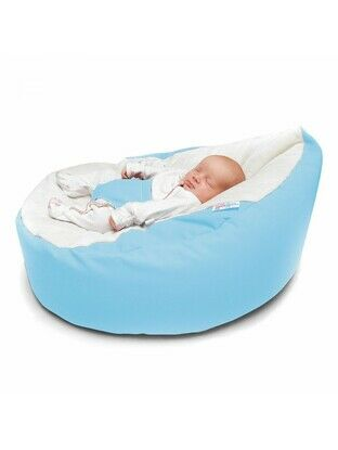 GaGa Cuddlesoft Pre-Filled Light Blue Comfortable Bean Bag