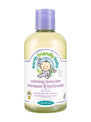 Earth Friendly baby Shampoo and Bodywash 250ml - Calming Lavender
