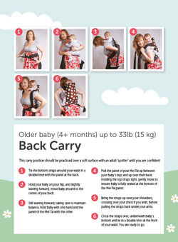 How To Tie A Mei Tai Baby Sling
